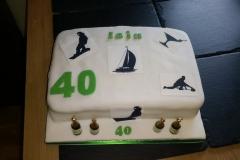 Iain 40th