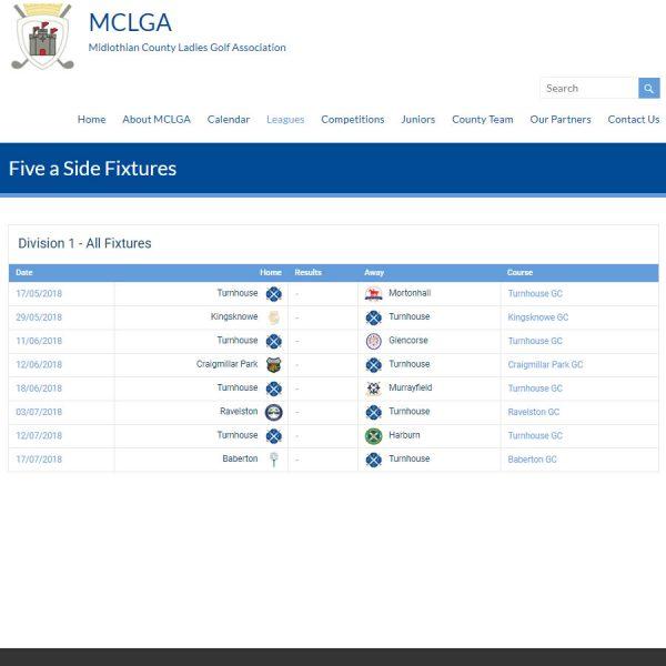 League Fixtures